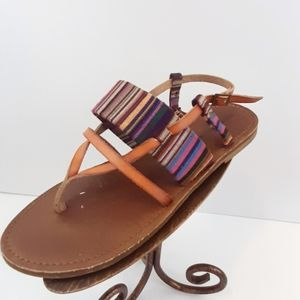 Mossimo supply co multicolored sandals